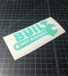 built not bought mint