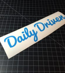 daily driven light blue
