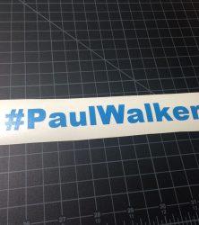 paul walker blue