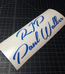 rip paul walker azure blue