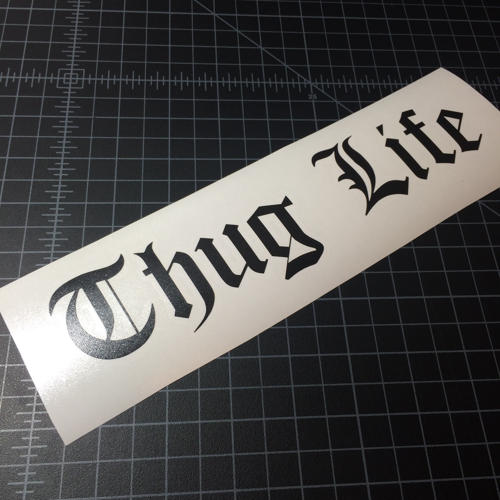 Thug life sticker