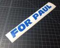 for paul blue