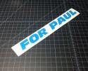 for paul light blue