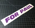 for paul purple