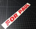for paul red