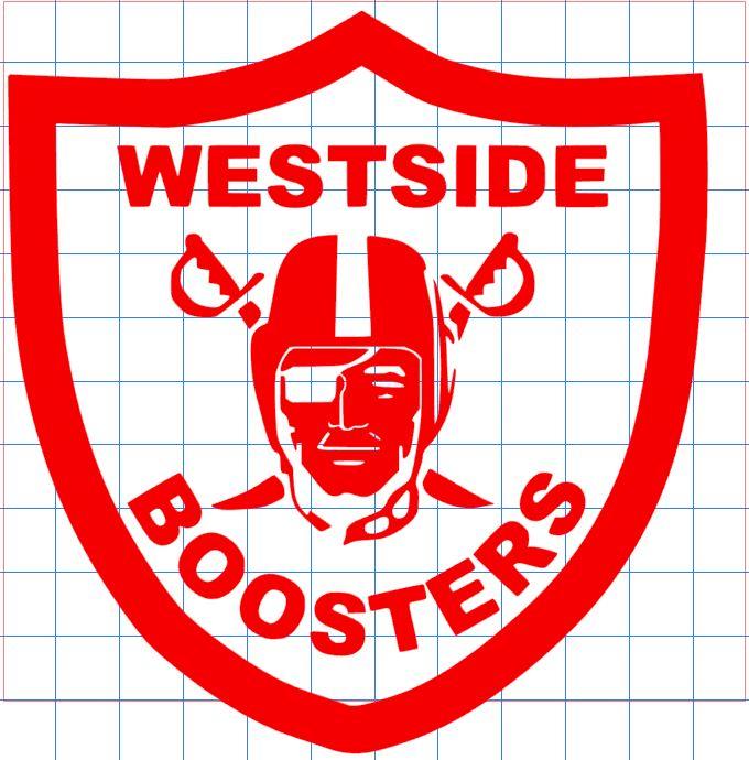 Westside Boosters Sticker Shays Sticker Shop