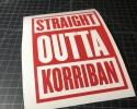 straight outta korriban red