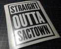 straight outta sactown
