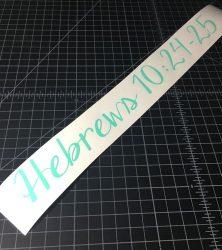 hebrews mint